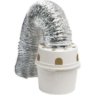 Dundas Jafine Proflex Indoor Dryer Vent Kit 4 Inch X 5