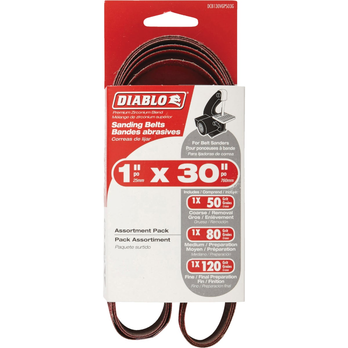 Freud DCB130VGPS03G Sanding Belt 1 x 30