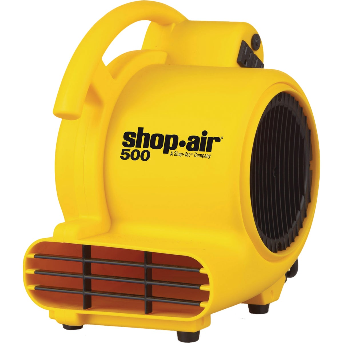 3 Speed Control Stackable SHOP-VAC 1032100-500 CFM Air Mover Blower Fan