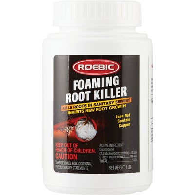 Roebic 1 Lb Foaming Root Killer Sewer Septic Drain Cleaner