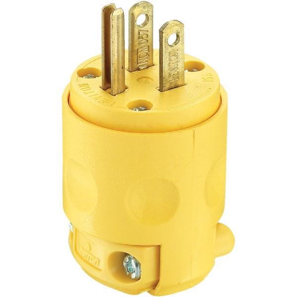 Leviton 515PV Yel Grnd Cord Plug
