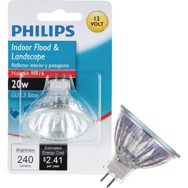 GE Lighting 84895 20w Gu5.3 Mr16 Hal Bulb