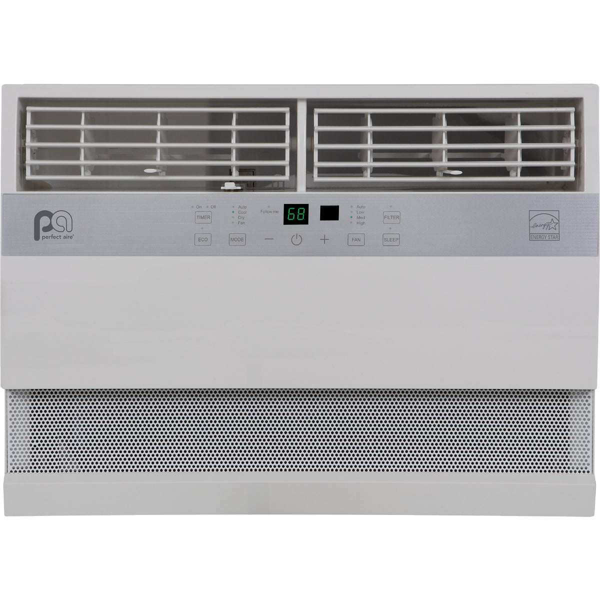 perfect aire 12 000 btu 115v room air conditioner ebay. Black Bedroom Furniture Sets. Home Design Ideas