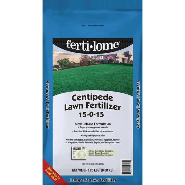 Vpg Fertilome 20lb Lawn Fertilizer by VPG Fertilome 10767 732221107670 at Sears.com