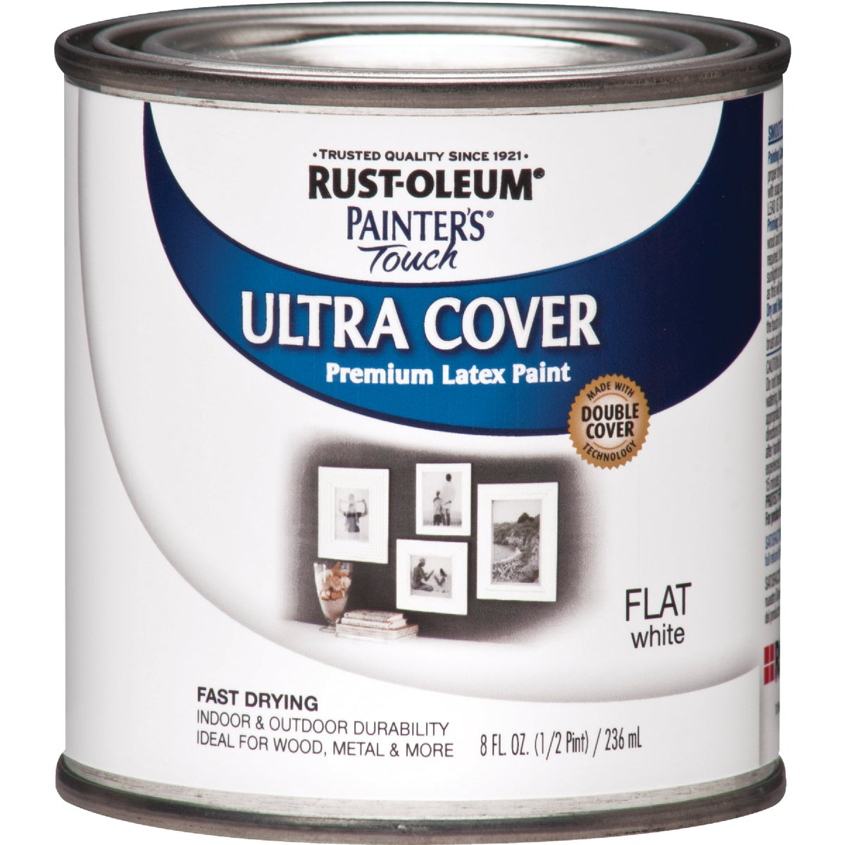 RustOleum Flat White Latex Paint | eBay