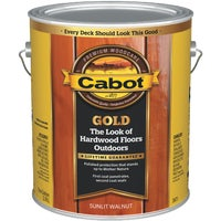 Cabot Gold Exterior Stain, Sunlit Walnut, 1 Gal.