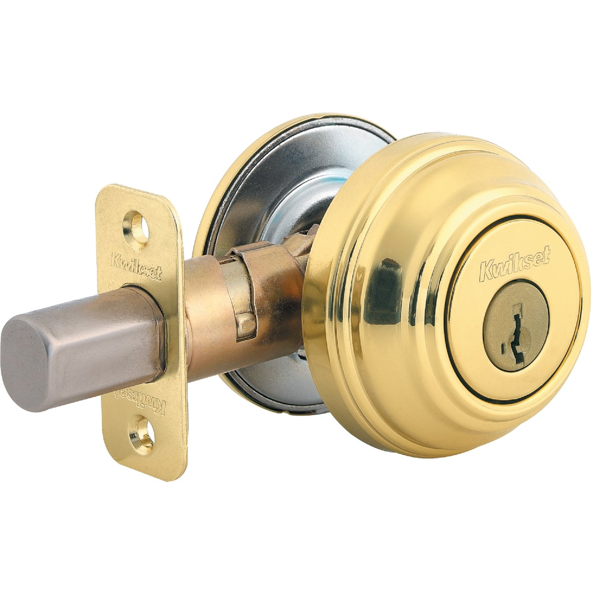 Item 200080, Grade 1 security single cylinder deadbolt with SmartKey cylinder. Cylinder design eliminates traditional pins and springs. Cylinder provides instant re-key functionality.