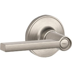 Item 201371, J-Series Solstice privacy door lever has turn-button locking.