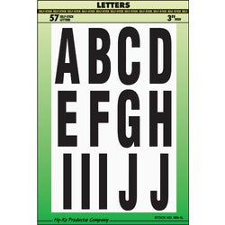 "Item 203912, 3"" size letters or numbers. Specifically designed for Marine use."