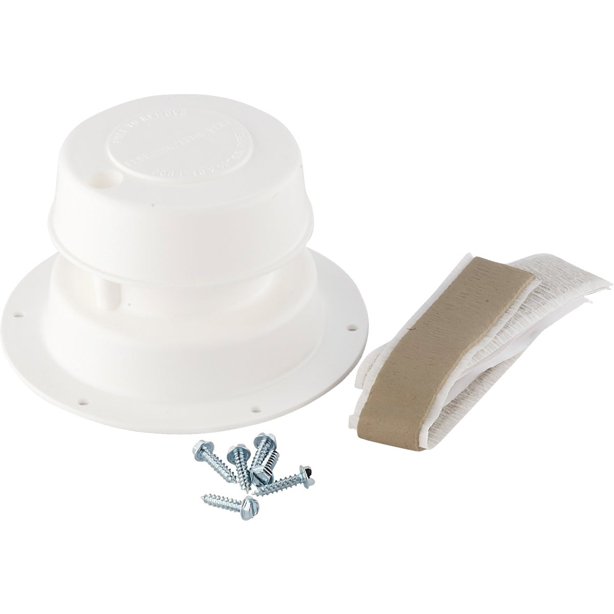 "Item 220418, Replace damaged plumbing vents with quality original factory replacement vents. Kit fits 1"" to 2-3/8"" O.D."