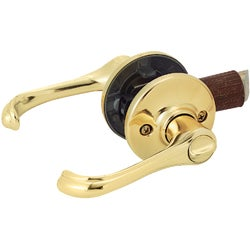 Item 239518, Nonhanded privacy lever for use on right or left handed interior doors.