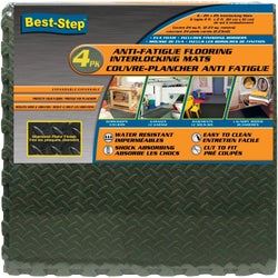 Item 260082, Interlocking anti-fatigue foam floor mats are water-resistant and easy-to-