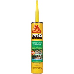 Item 264121, High-performance, polyurethane construction adhesive with superior bond