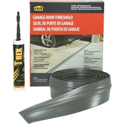 Item 275703, Durable, high-quality vinyl seal for single or double garage bays.