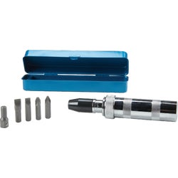 "Item 302139, Economy priced hand tool. 7-piece set contains four 5/16"" steel alloy insert bits (2 Phillips No."