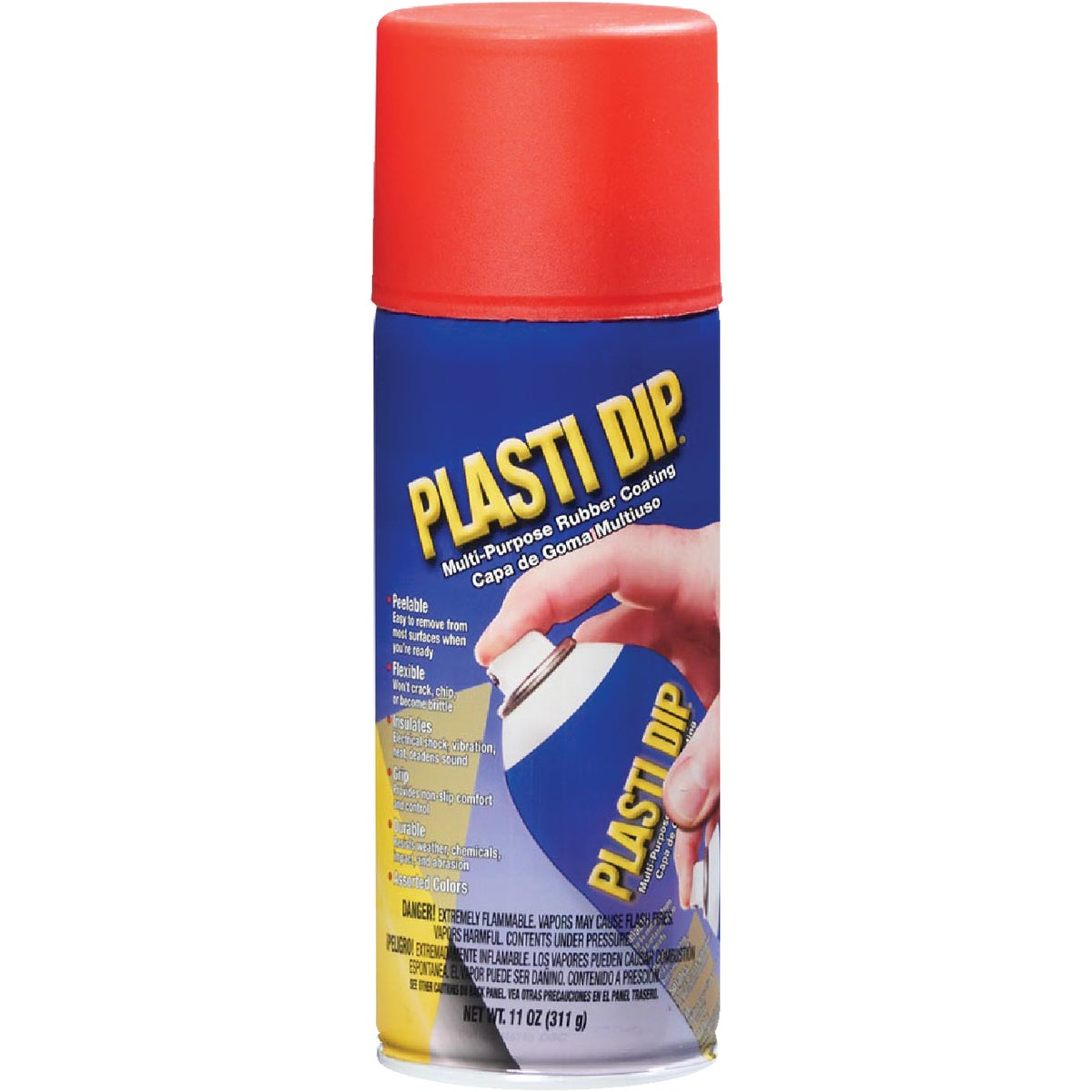 Item 330272, Performix Plasti Dip is a multipurpose, air dry, specialty rubber coating. It can be easily applied by dipping, brushing, or spraying.