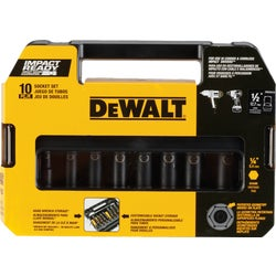 "Item 348236, This set includes the 8 most common size sockets and (2) 1/4"" adapters."