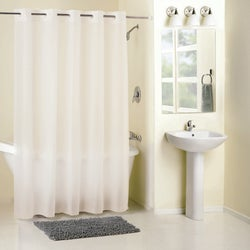 Item 400299 Frosty PEVA EZ On Shower Curtain With Matching PP Polypropylene