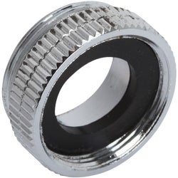 Item 400732, Chrome-plated low lead aerator adapter.