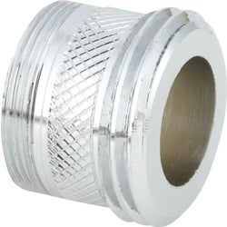 "Item 408115, Converts 15/16"" - 27 outside, 55/64"" - 27 inside to 3/4"" garden hose thread"