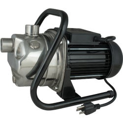Item 432148, 1 HP (horsepower) stainless steel body pump, with 1 In.