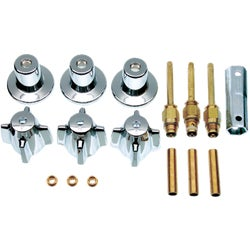 Item 484253, Everything you need to remodel your Central brass tub/shower faucet.