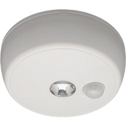 Item 501795, Hands free LED (light emitting diode) battery operated ceiling light.