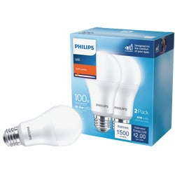 Item 501923, Household LED (light emitting diode) bulb with a medium base.
