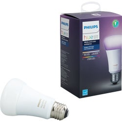 Item 502775, A19 dimmable LED (light emitting diode) smart bulb.