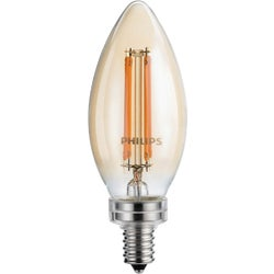 Item 502867, Blunt tip decorative candle, traditional look LED (light emitting diode)