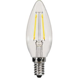 Item 504066, Decorative LED (light emitting diode) with a traditional incandescent look
