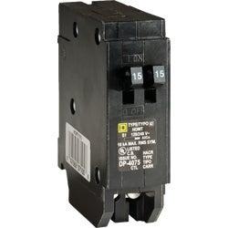 Item 504572 Homeline Tandem Circuit Breaker 2 Single Poles Requiring 1 E