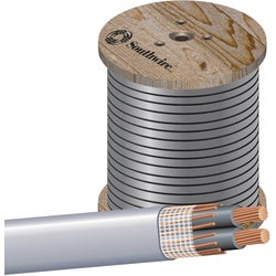 Item 506919, SEU copper service entrance cable can be used for service from pole to house and service entrance cable.