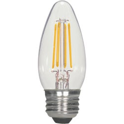 Item 507239, Decorative LED (light emitting diode) with a traditional incandescent look