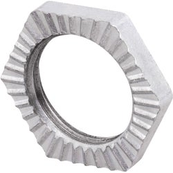 "Item 522031, 3/8"" fixture locknut for rigid conduit and IMC."