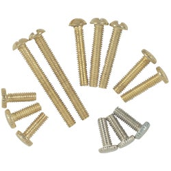 Item 522857, Thirteen 8/32-inch lamp screws. 1/2-inch to 2-inch.