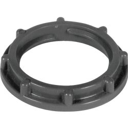 Item 538949, Locknut ideal for use with PVC (polyvinyl chloride) conduit.