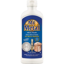 Item 600580, Cleans, shines, and protects all metals including silver, brass, copper,