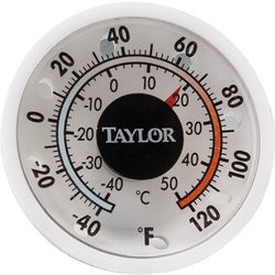 "Item 603503, 1-3/4"" window/wall dial thermometer."