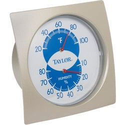 Item 604402, New shape and dial. Displays relative humidity and temperature.