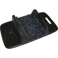 Item 629270, Keeps the tough dirt outside where it belongs. Stiff polyethylene bristles won't wear out. Durable, weather-resistant frame with nonslip bottom. Hoses off for easy cleaning.