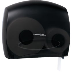 Item 629553, JRT Escort jumbo roll bathroom tissue dispenser with stub roll and