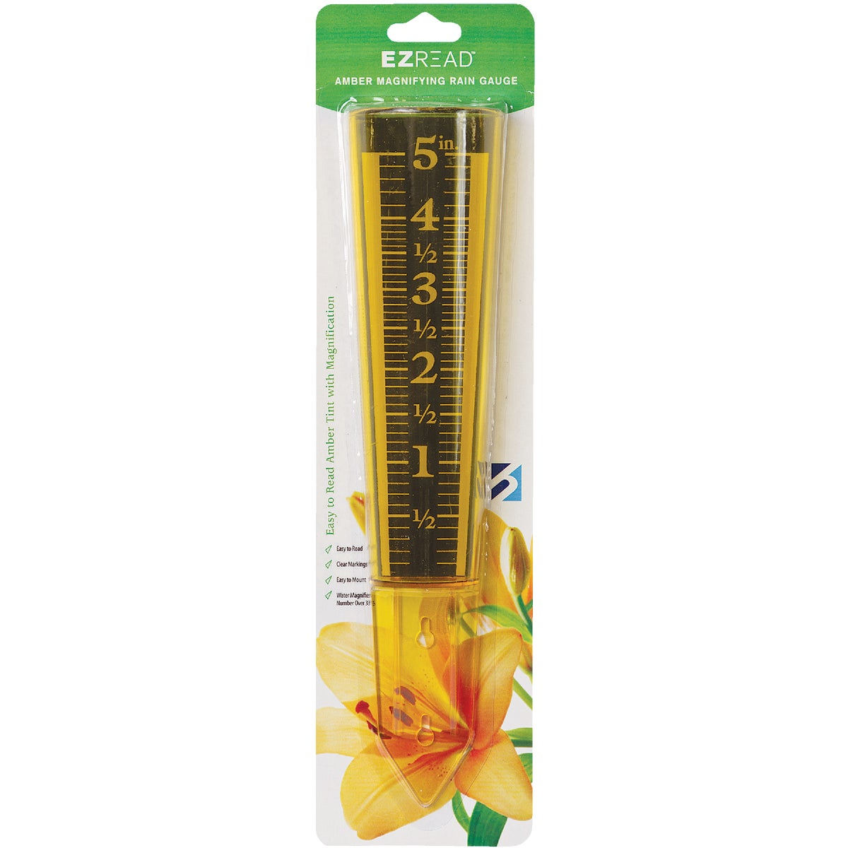 "Item 635375, Capacity: 5"". Easy-to-read measurement increments on amber background."