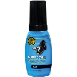 Item 701558, Scuff cover shoe polish. Eliminates worn-out, scratched, and scuffed look.