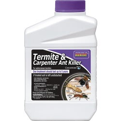 Item 702197, Liquid concentrate, outdoor ant killer. Kills termites, carpenter ants, fire ants, wood infesting beetles, and other insects.