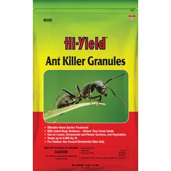 Item 703429, Hi-Yield ant killer granules. For use on lawns, around home foundations (perimeter treatment), ornamental gardens, flower gardens, and vegetable gardens.