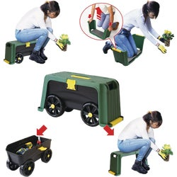 Item 704845, Roll N' Kneel 4-in-1 garden kneeler.