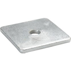 Item 704848, 3 In. x 3 In. square steel washer.