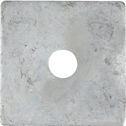 Item 704849, 3 In. x 3 In. square steel washer.