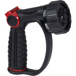 Item 705244, Thumb control, adjustable 7-pattern, D-grip nozzle.